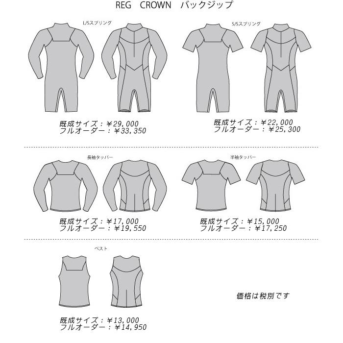 レグウェットスーツ
